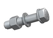 Organe de asamblare pentru structuri metalice – ansamblu surub, piulita, saiba conform EN15048-1